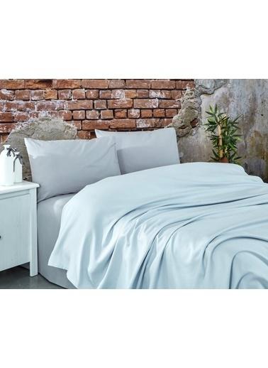 Komfort Home Çift Kişilik Ranforce %100 Pamuk Pike / Açık Gri Gri